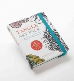 Tangle Art Pack: A Meditative Drawing Book and Sketchpad
