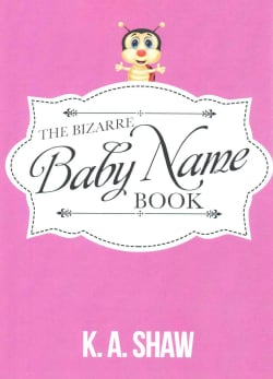 The Bizarre Baby Name Book (Paperback)