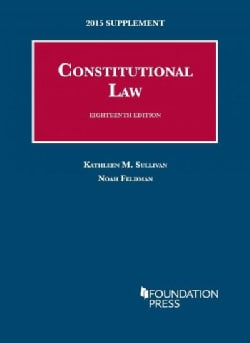 Constitutional Law: 2015 Supplement (Paperback)
