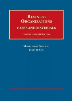 Business Organizations, Cases and Materials + Casebookplus