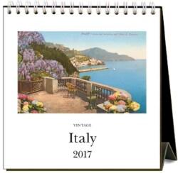 Italy 2017 Easel Calendar (Calendar)