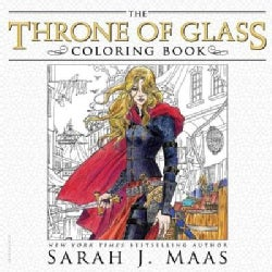 The Throne of Glass Coloring Book (Paperback)