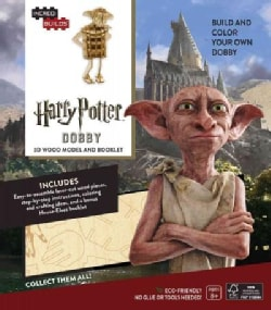 Incredibuilds Harry Potter Dobby: 3D Wood Model and Booklet