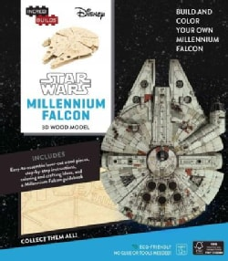 Incredibuilds Star Wars Millennium Falcon 3d Wood Model (Toy)