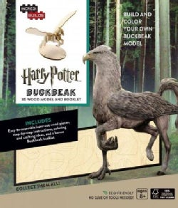 Harry Potter Buckbeak 3D Wood Model