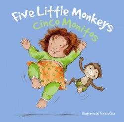 Cinco Monitos/ Five Little Monkeys (Board book)