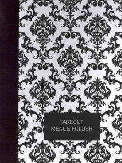 Takeout Menus Folder: Elegant Black (Organizer)