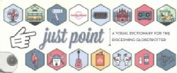 Just Point!: A Visual Dictionary for the Discerning Globetrotter (Cards)