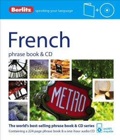 Berlitz French Phrase Book + Cd