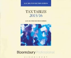 Tax Tables 2015/16: Post-election Edition (Paperback)