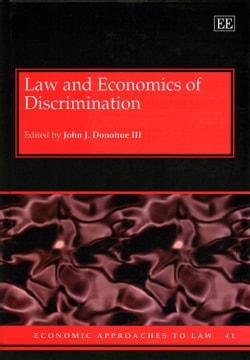 Law and Economics of Discrimination (Hardcover)