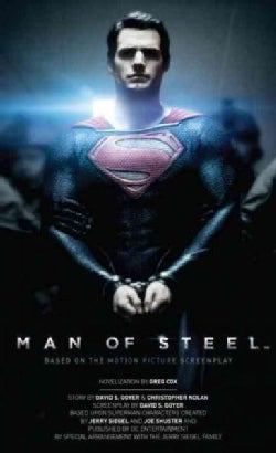 Man of Steel: The Official Movie Novelization (Paperback)