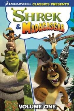 Shrek & Madagascar: Hide & Seek (Paperback)