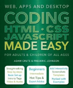 Coding HTML-CSS Javascript Made Easy (Paperback)