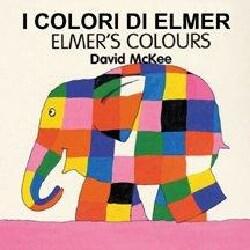 Elmer's Colours (Board book)