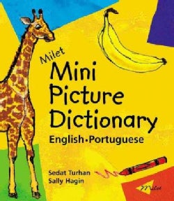 Milet Mini Picture Dictionary: English - Portuguese (Board book)