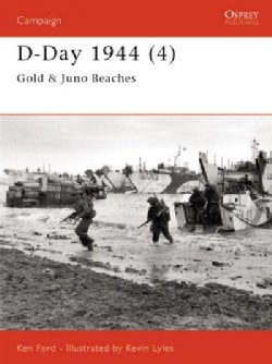 D-Day 1944 (4): Gold & Juno Beaches (Paperback)