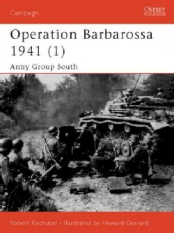 Operation Barbarossa 1941: Army Group South (Paperback)