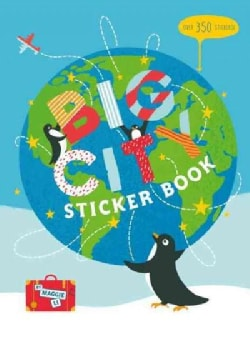 Big City Sticker Book: Over 350 Stickers! (Paperback)