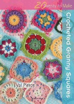 Crocheted Granny Squares (Paperback)