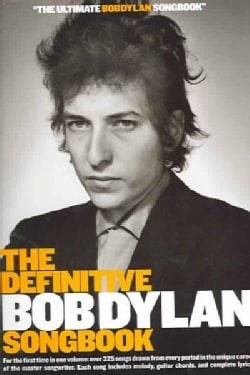 The Definitive Bob Dylan Songbook (Paperback)