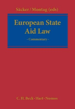 European State Aid Law: A Commentary (Hardcover)