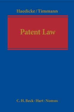 Patent Law: A Handbook on European and German Patent Law (Hardcover)