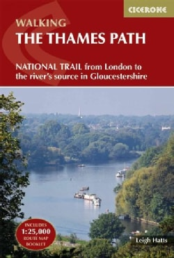 Walking the Thames Path: From London to the River's Source in Gloucestershire (Paperback)
