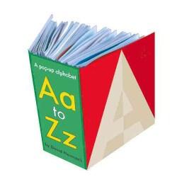 Aa to Zz: A Pop-up Alphabet (Hardcover)