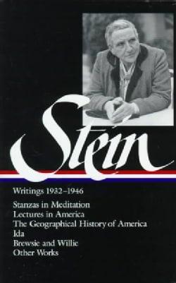 Gertrude Stein: Writings 1932-1946 (Hardcover)