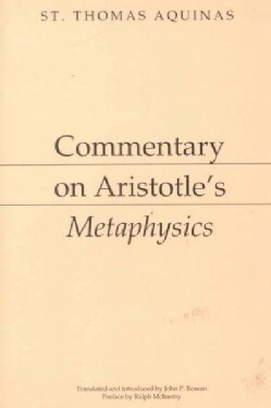 Commentary on Aristotle's Metaphysics (Paperback)