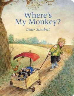 Where's My Monkey (Board book)