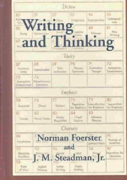 Writing and Thinking: A Handbook of Composition and Revision (Hardcover)