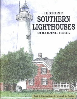 Historic Southern Lighthouses Coloring Book (Paperback)