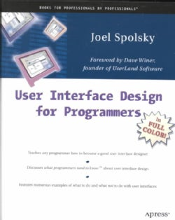 User Interface Design for Programmers (Paperback)