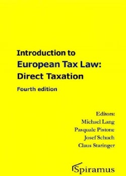 Introduction to European Tax Law: Direct Taxation (Paperback)