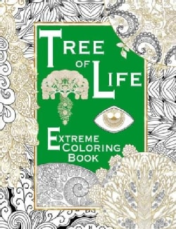 Tree of Life: Extreme Coloring Book (Paperback)