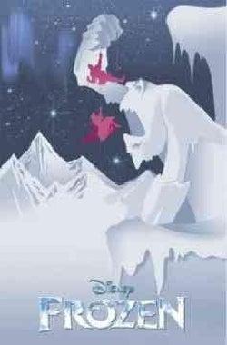Disney's Frozen Cinestory: Retro Edition (Paperback)