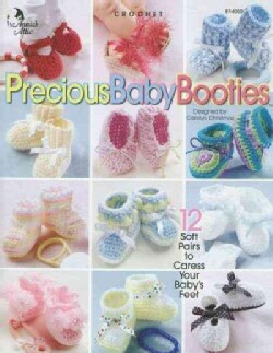 Precious Baby Booties: Crochet (Paperback)