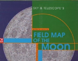 Sky & Telescope's Mirror-Image Field Map of the Moon (Sheet map, folded)