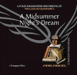 A Midsummer Night's Dream: A Fully-dramatized Recording of William Shakespeare's (CD-Audio)