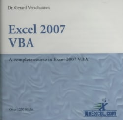 Excel 2007 VBA: A Complete Coursei in Excel 2007 Vba (CD-ROM)