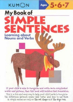 My Book of Simple Sentences: Learning about Nouns And Verbs (Paperback)