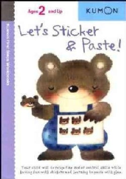 Let's Sticker and Paste (Paperback)