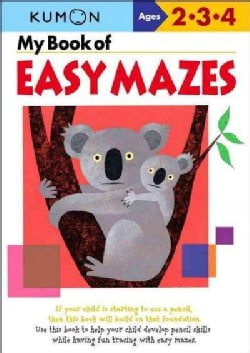 My Book of Easy Mazes (Paperback)