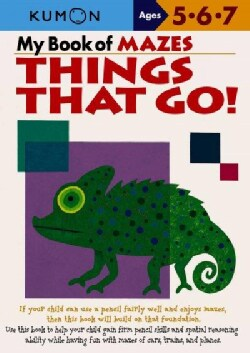 My Book of Mazes: Things That Go! (Paperback)