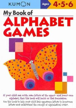 My Book of Alphabet Games: Ages 4, 5, 6 (Paperback)