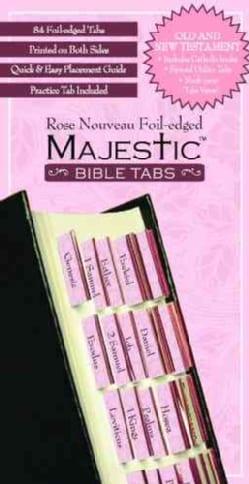 Majestic Rose Nouveau Foil-Edged Bible Tabs (Hardcover)