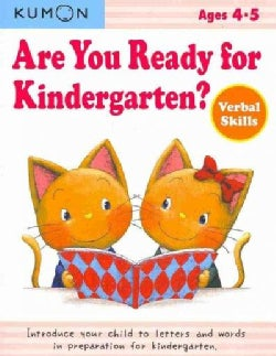 Are You Ready for Kindergarten?: Verbal Skills, Ages 4-5 (Paperback)