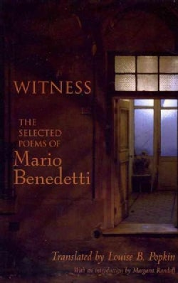 Witness: The Selected Poems of Mario Benedetti (Paperback)
